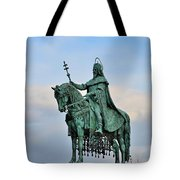Statue Of St Stephen Hungary King Tote Bag