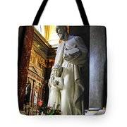 Statue Of St Stephen's Tote Bag