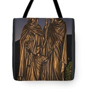 Statue Of The Holy Family  Tote Bag
