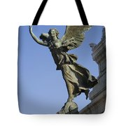 Statue On The Tomb Of The Unknown Soldier Tote Bag