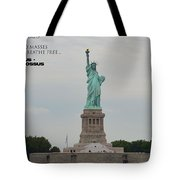 Statue With Colossus Tote Bag
