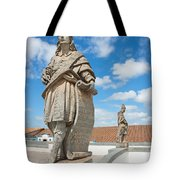 Statues Of Prophets Tote Bag