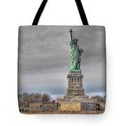 Staute Of Liberty Tote Bag