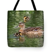 Staying Close To Mom Tote Bag