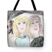 Staying Strong For Him Tote Bag