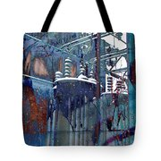 Steady As She Flows Tote Bag