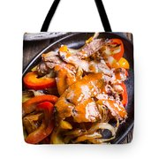 Steak Fajitas Tote Bag