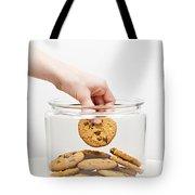 Stealing Cookies From The Cookie Jar Tote Bag
