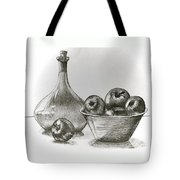 Stealing Of The Orchard Tote Bag