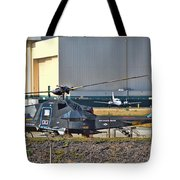 Stealth Air Attack Helicopter Tote Bag