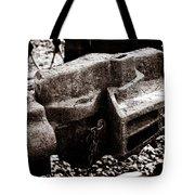 Steam And Iron - Industrial Handshake Tote Bag by Alexander Senin