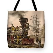 Steam And Sail Tote Bag