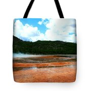 Steam And Trees Tote Bag