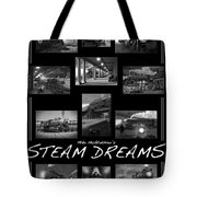 Steam Dreams Tote Bag by Mike McGlothlen