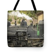 Steam Engine At Cumbres Pass Tote Bag