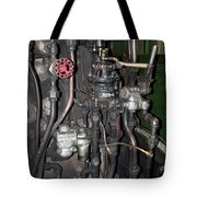 Steam Engine Controls Tote Bag