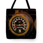 Steam Engine Gauge Tote Bag