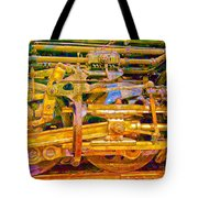 Steam Engine Linkage 3 Tote Bag