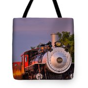 Steam Engine Number 509 Tote Bag