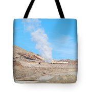 Steam From Earth Tote Bag