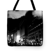 Steam Heat - New York At Night Tote Bag