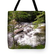 Steam In The Smoky Mountains Tote Bag