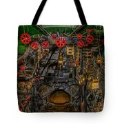 Steam Locamotive Controls Tote Bag