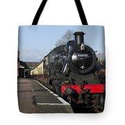 Steam Loco 46521 Tote Bag