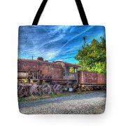 Steam Locomotive No 1151 Norfolk And Western Class M2c Tote Bag