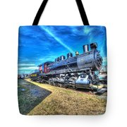 Steam Locomotive No 4 Virginian Class Sa  Tote Bag