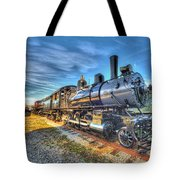 Steam Locomotive No 6 Norfolk And Western Class G-1 Tote Bag