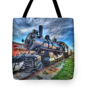 Steam Locomotive No 6 Norfolk And Western  Tote Bag