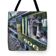 Steam Locomotive Norfolk And Western  No. 606 Tote Bag