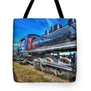 Steam Locomotive Virginian Class Sa No 4 Tote Bag