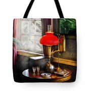 Steam Punk - Victorian Suite Tote Bag by Mike Savad