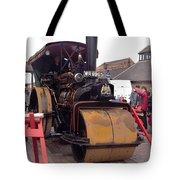 Steam Roller Tote Bag