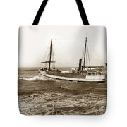 steam-schooner Elizabeth circa 1914 Tote Bag