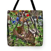 Steam Shovel Bucket Tote Bag