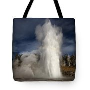 Steam Tower Tote Bag