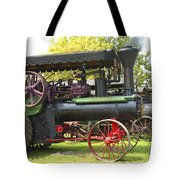 Steam Tractor Line-up Tote Bag