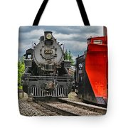 Steam Train Tr3637-13 Tote Bag