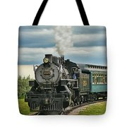 Steam Trains Tr3629-13 Tote Bag