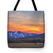 Steamboat Alpenglow Tote Bag