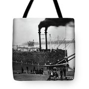 Steamboat, C1900 Tote Bag