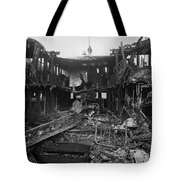 Steamboat Fire, C1910 Tote Bag
