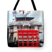 Steamboat Natchez Tote Bag