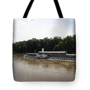 Steamboat River Elbe Germany Tote Bag