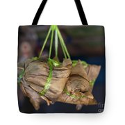 Steamed Food Parcels Tote Bag