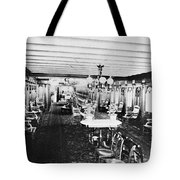 Steamer Interior, C1867 Tote Bag