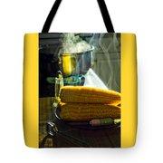 Steaming Corn Tote Bag